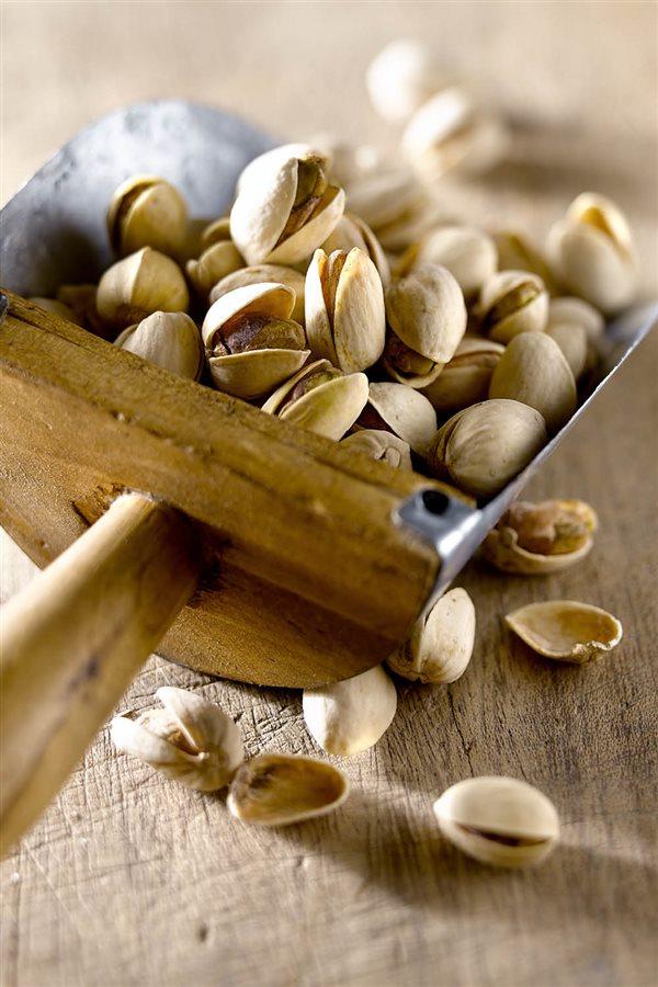 Los pistachos producen estrenimiento