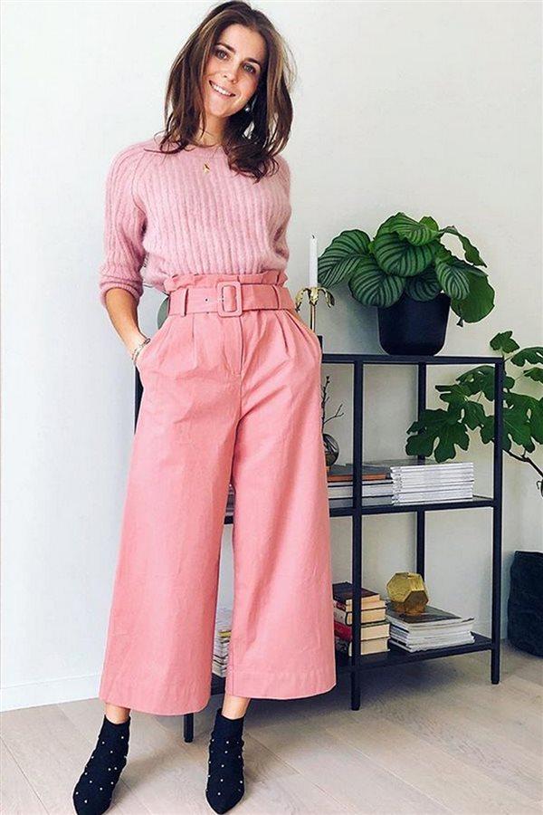 0f8e7b4850 Culotte+jersey en rosa. Culotte + jersey en rosa
