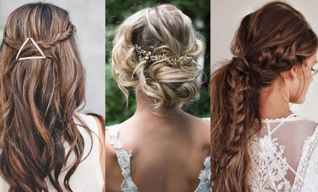 Peinados f ciles para las bodas de 2018 - Peinados elegantes para una boda ...