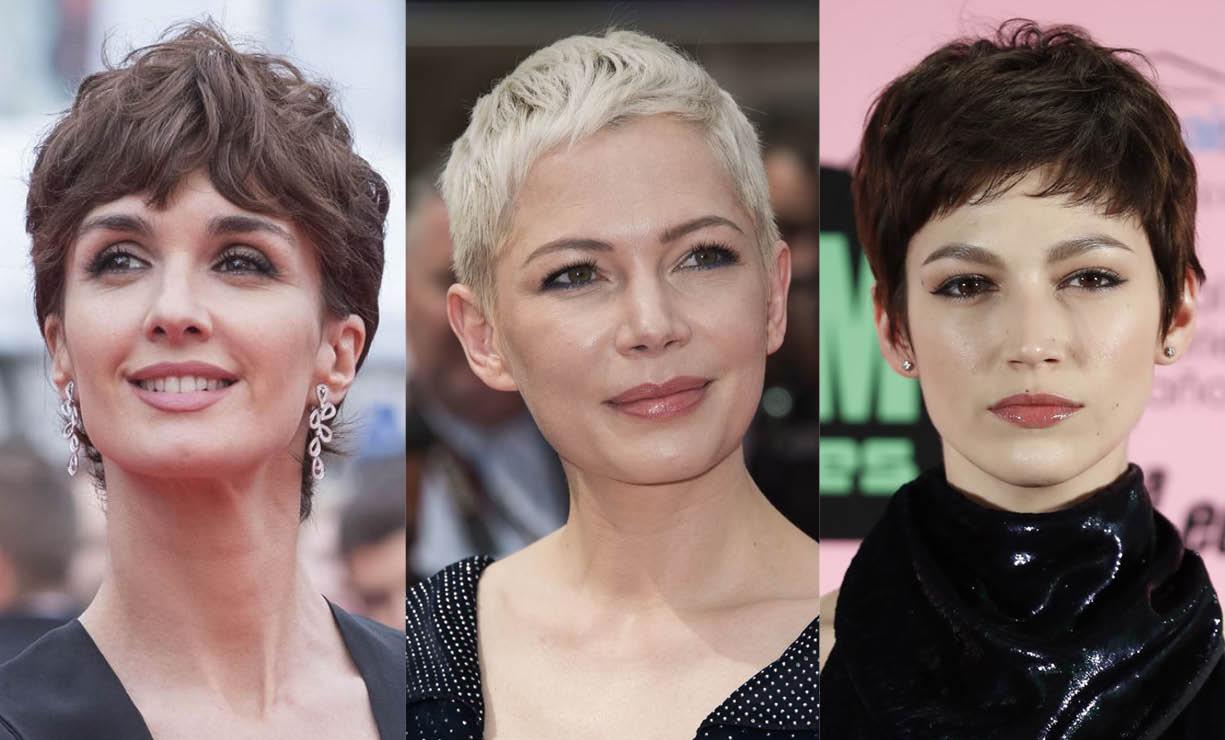 Mechones en cabello corto 2018