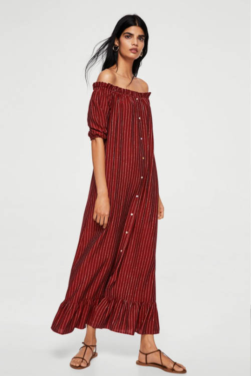 Vestidos camiseros largos aliexpress