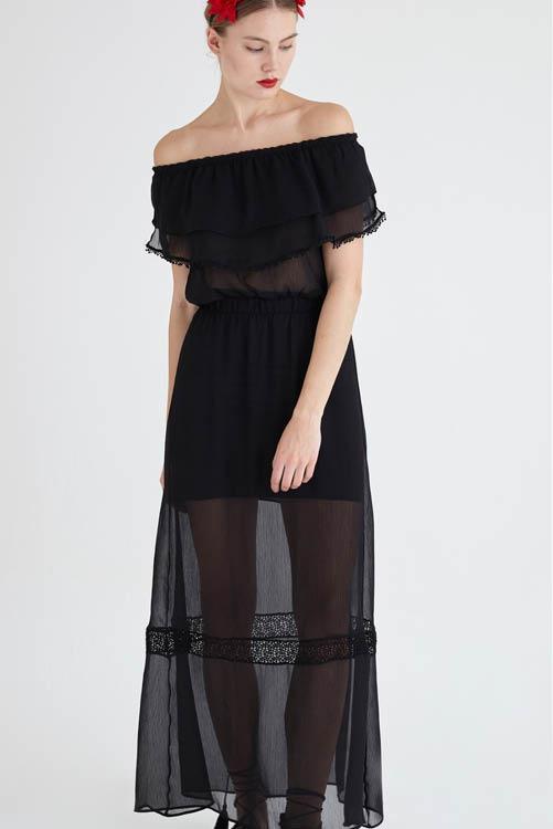 reunirse seleccione para el último Cantidad limitada Los mejores vestidos largos de la temporada: Zara, Mango ...