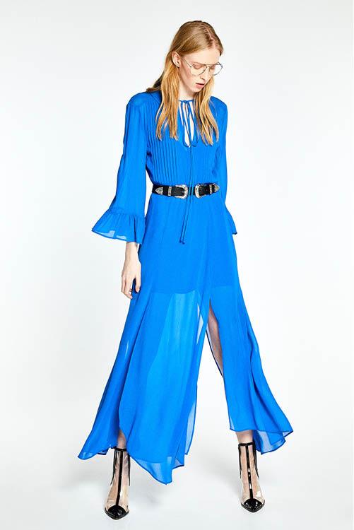 20284ca2d Los mejores vestidos largos de la temporada  Zara