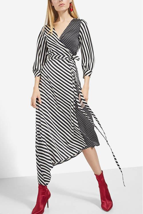4fe1b03d41 Los mejores vestidos largos de la temporada  Zara