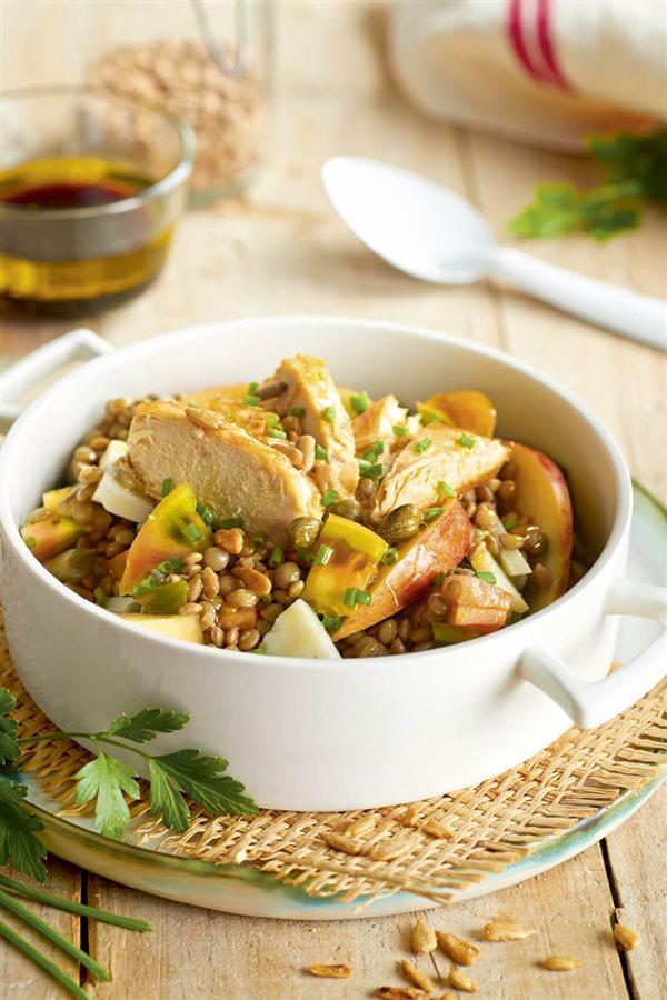 Recetas con pollo f ciles ligeras y s per sabrosas for Cocinar lentejas de bote