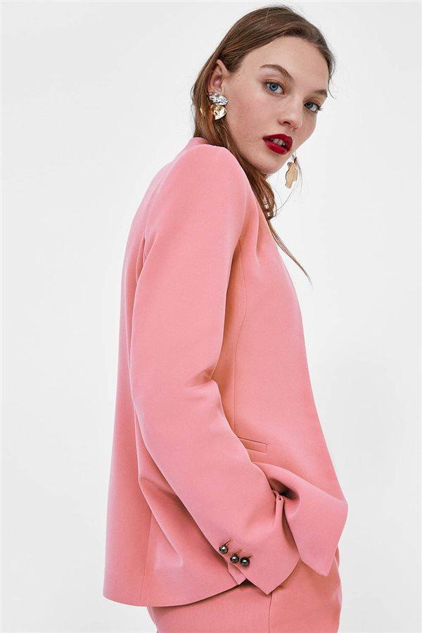 3dad79279 Guia lowcost-Blazer rosa Zara-39