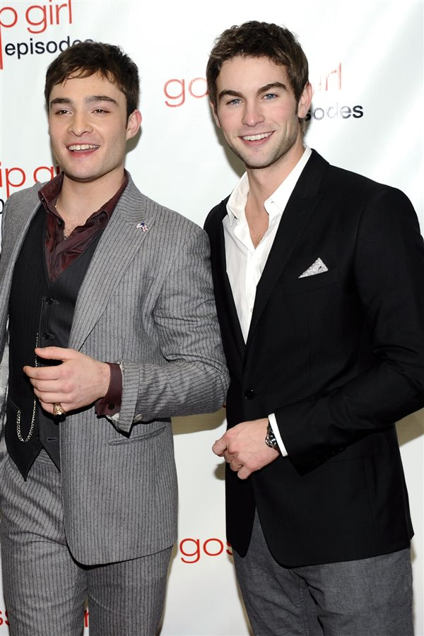 Ed Westwick Chace Crawford famosos vivir juntos. Ed Westwick y Chace Crawford