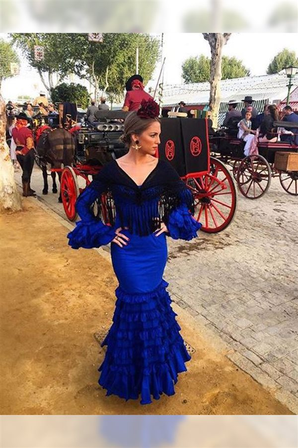 Vestidos flamenca negro