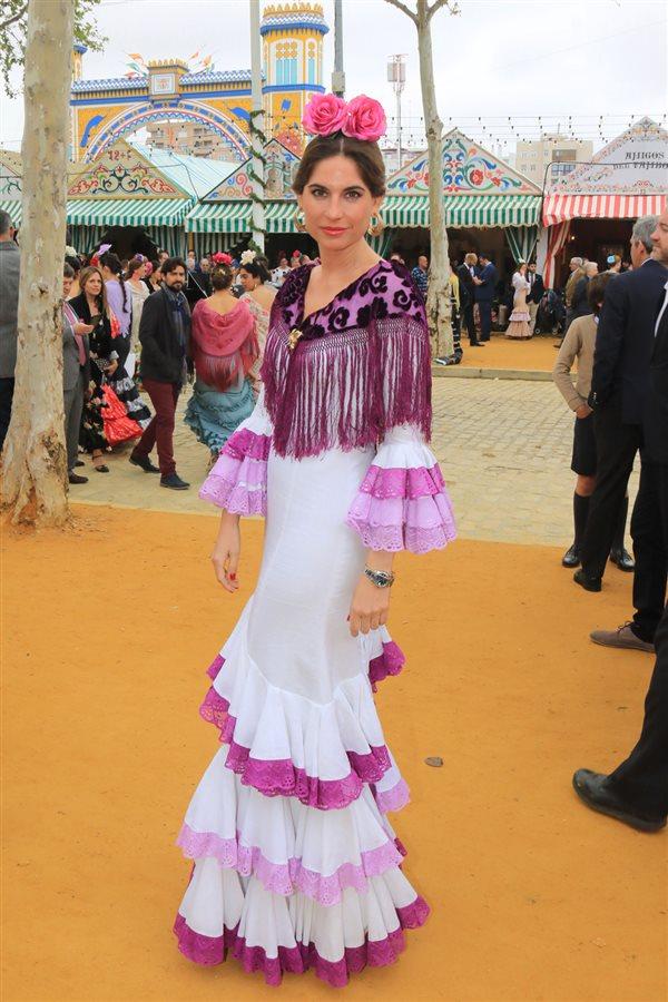da636aae9216e Los mejores looks con trajes de flamenca de la Feria de Abril 2018