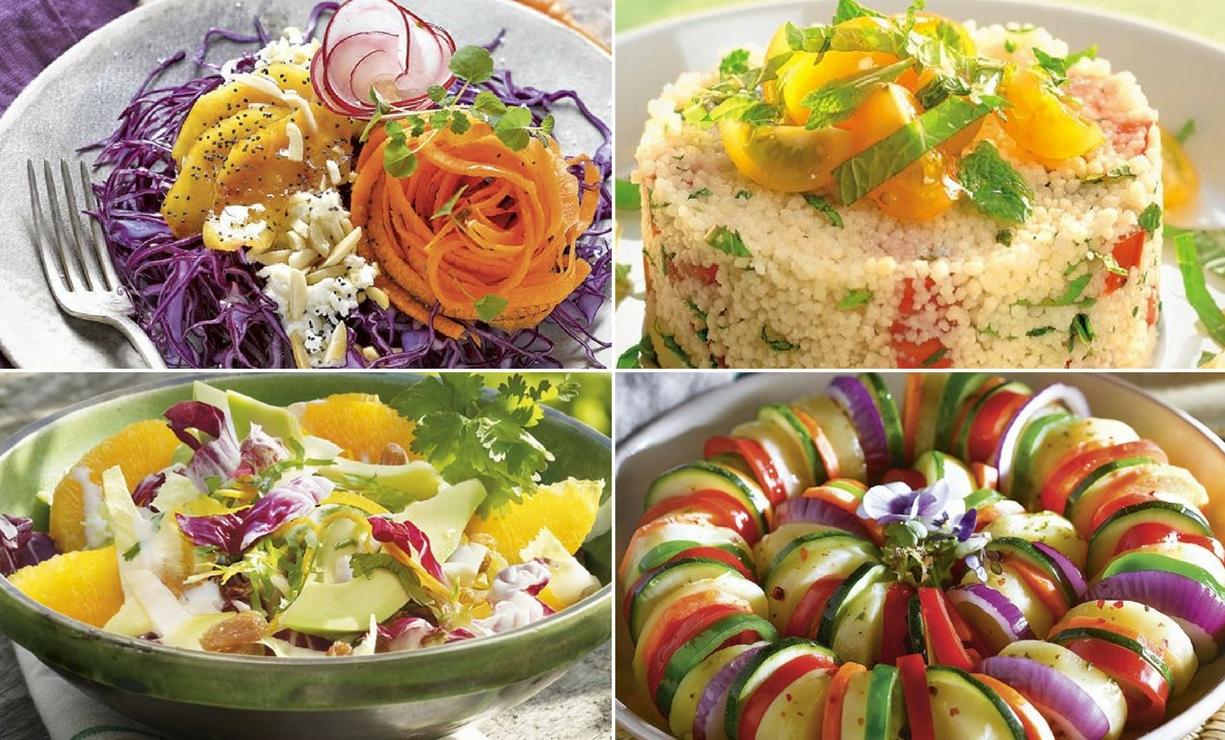 45 recetas de ensaladas fáciles, deliciosas y saludables