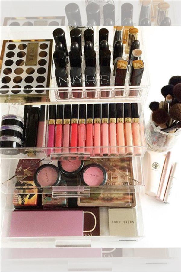74be5bbaa Estos son los mejores organizadores de maquillaje (low cost)