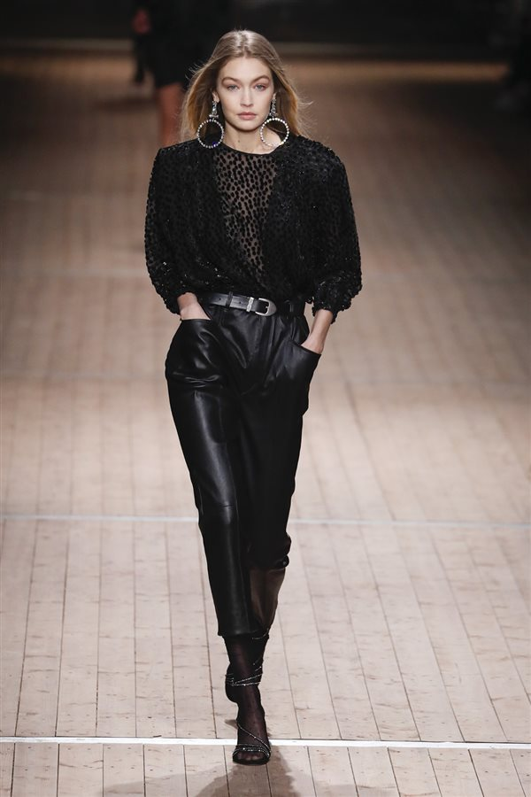 f6bc7dc5f7cf tendencias moda mujer otoño 2018 invierno 2019 paris milan new york 122.  Total black