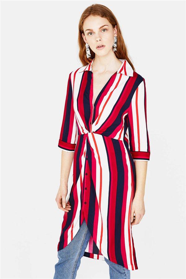 Y Zara Llevan Vestido Rayas De Influencers Es Las El Moda