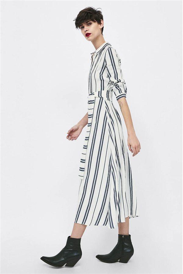 Llevan Rayas Es Que Influencers De Y Zara Vestido Moda El