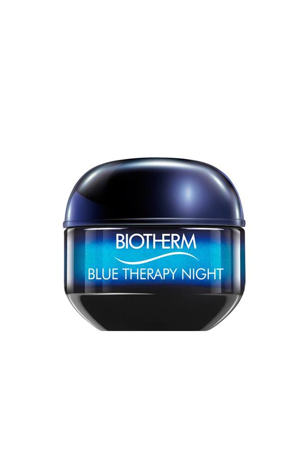 noche blue therapy biotherm. Adiós manchas
