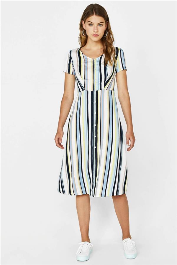 ce87902486 vestidos baratos mujer verano 2018 largo con botones 25