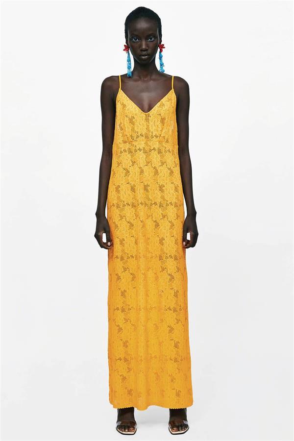 7451d9ba68 vestidos baratos mujer verano 2018 zara ENCAJE DETALLE 25