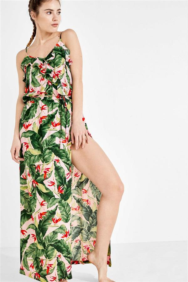 Tropical fever. Vestido largo