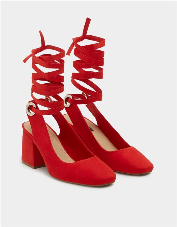 Con Mujer Zapatos Cómodos Tacón Y Marypaz De Stradivarius Zara qOIIw5Bnr