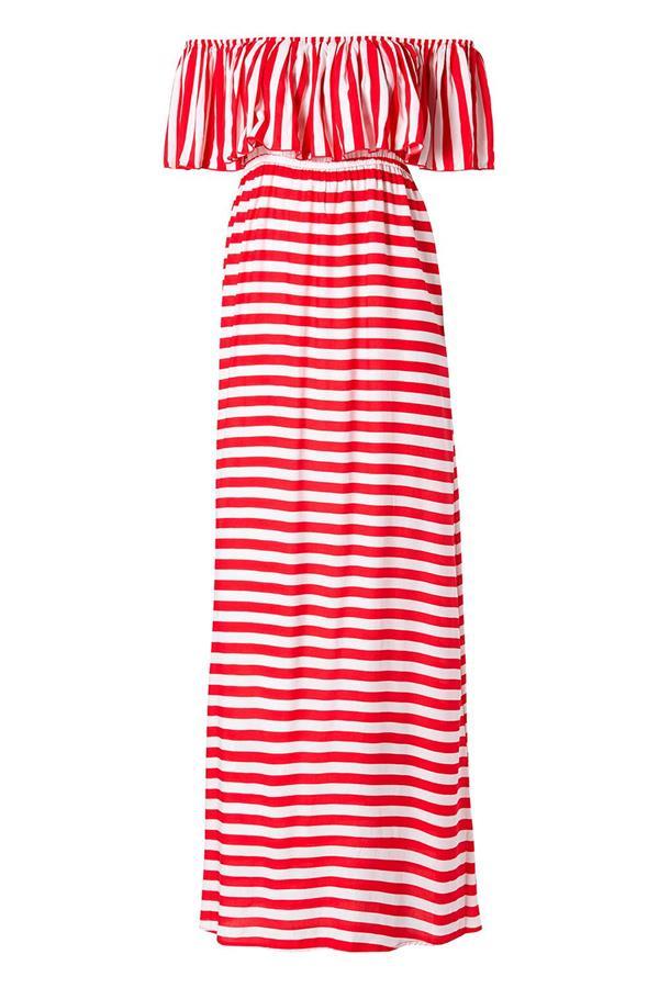 00928736cc vestido playero marinero rayas volantes calzedonia. Vestido marinero para  la playa