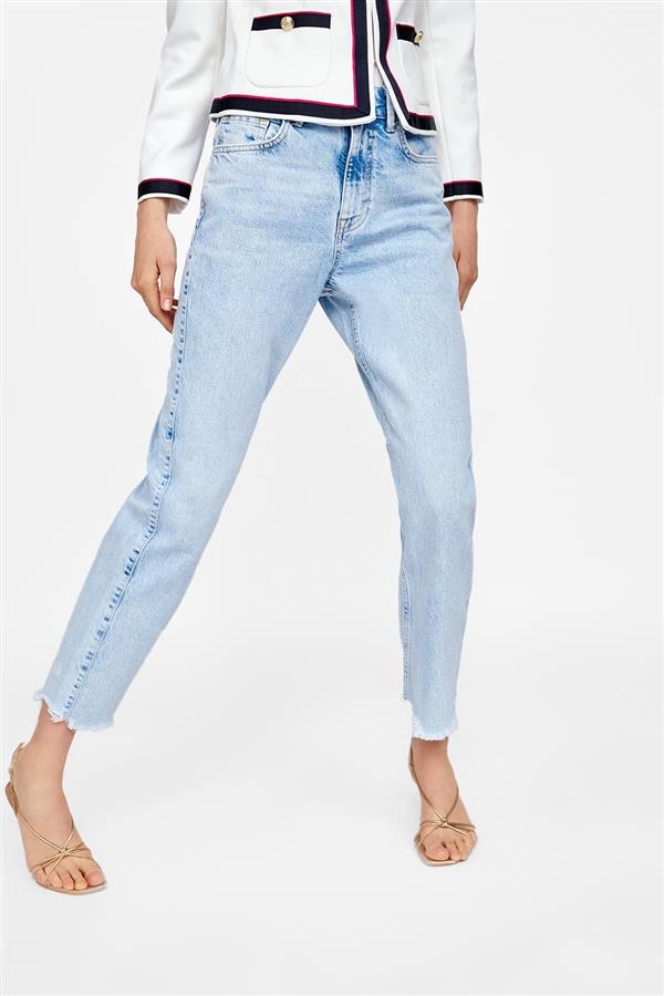 18 mom jeans zara. Unos 'mom jeans' obligatorios