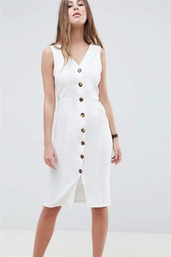 Este es el vestido blanco de moda. ¿Lo tienes  f72c872c285f