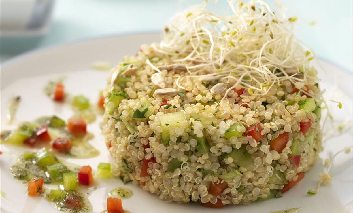 Para adelgazar propiedades quinoa
