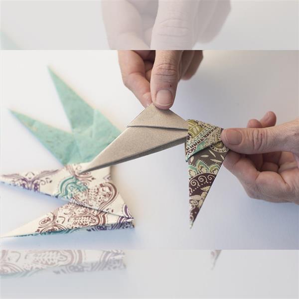 Alerta diy este a o haz t misma los adornos navide os for Adornos navidenos origami paso a paso