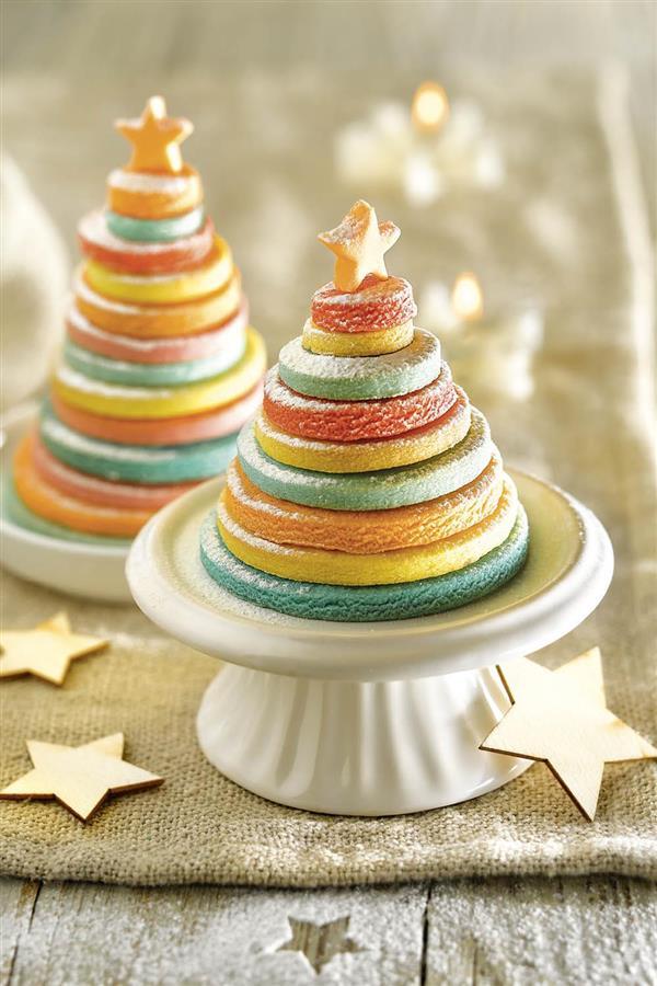 Bonitos Dibujos De Navidad A Color Faciles.Postres Navidenos Faciles Originales Y Para Todos Los Gustos