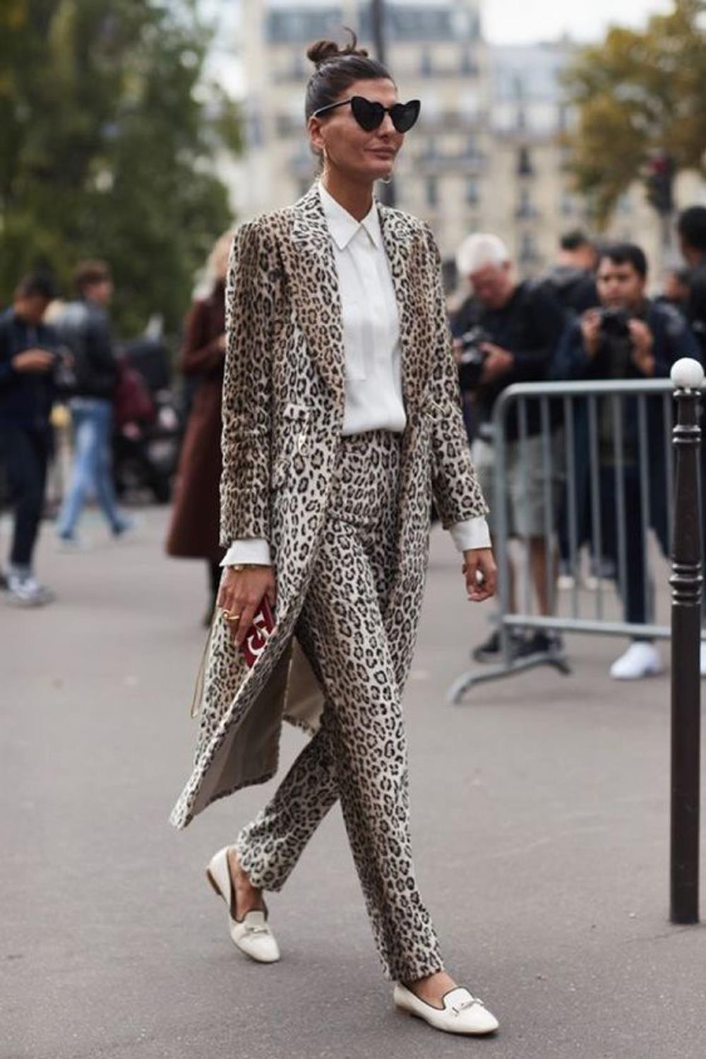 estampado leopardo pinterest 1. ¿El total look es una opción?