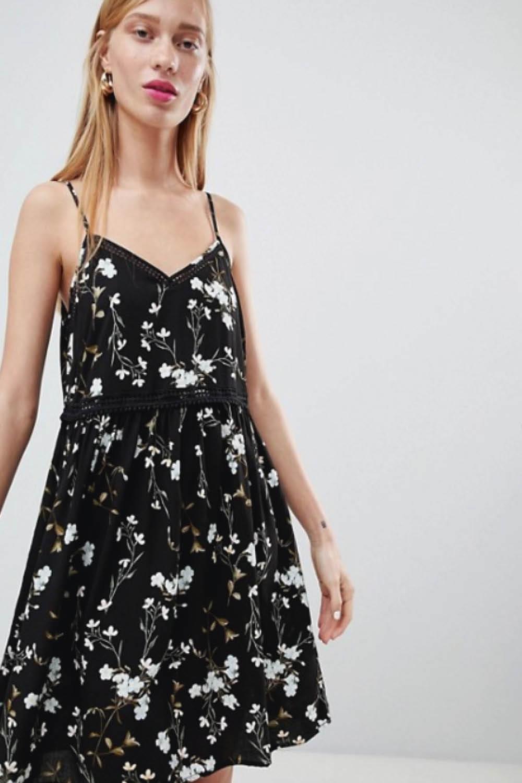 Vestidos De Mujer Cortos Y De Tirantes Asos Br0181361