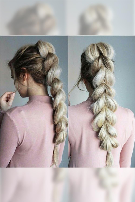 Peinados Sencillos Y Bonitos Para Tu Dia A Dia - Peinado-trenza-facil