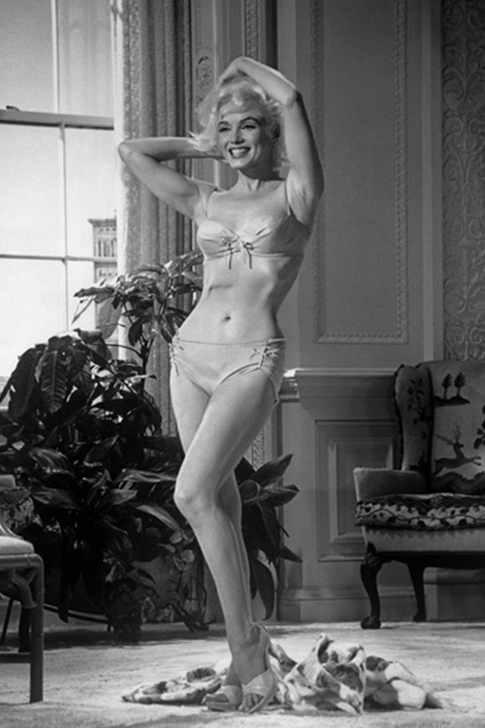 Marilyn Monroe en 'Somethings Got to Give'. Marilyn Monroe: talla 40