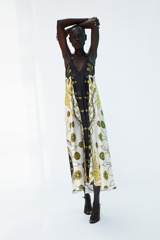 Pañuelo Vestido Sencillo Estampado Aunque Si Buscas Zara2 Algo Más HSF6wq6
