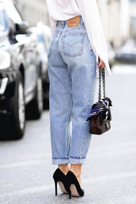 Claves de estilo para llevar los mom jeans 3abba7bf79b8