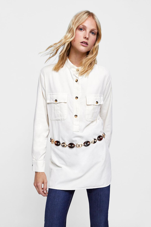 cfeb6cc1b9 1zara-camisa-blanca-larga-pana. De pana
