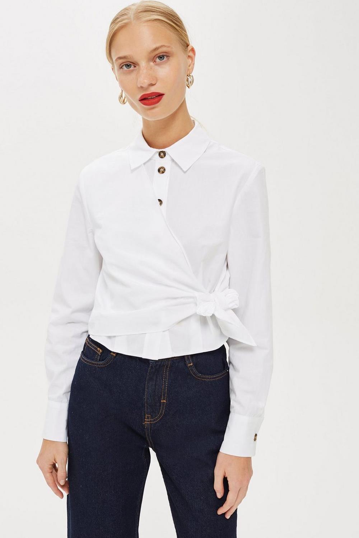 87ff78da5 20 camisas blancas de mujer: Zara, Mango, Massimo Duti, Pull and Bear