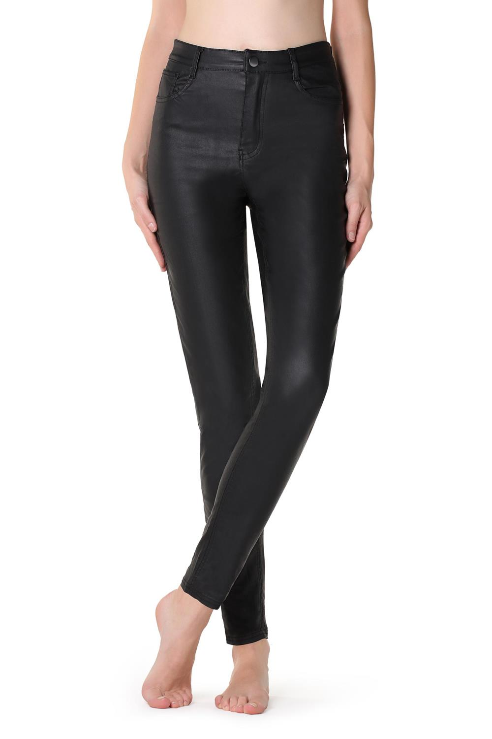 looks leggings calzedonia piel. En piel