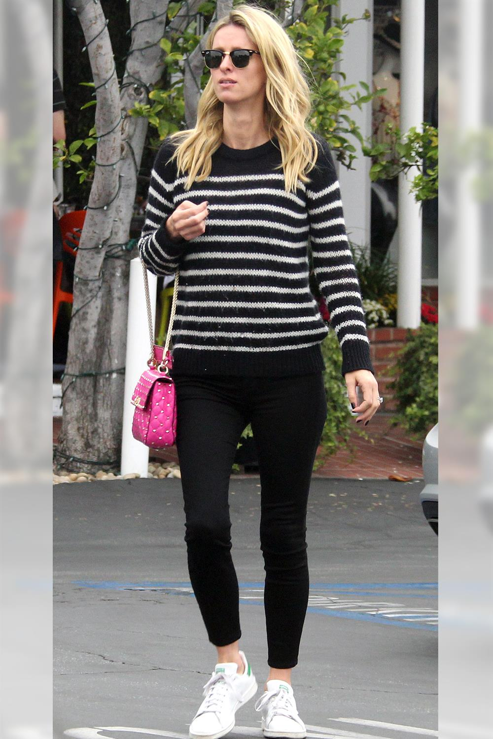 looks leggings Nicky Hilton. Tu primer look con leggings