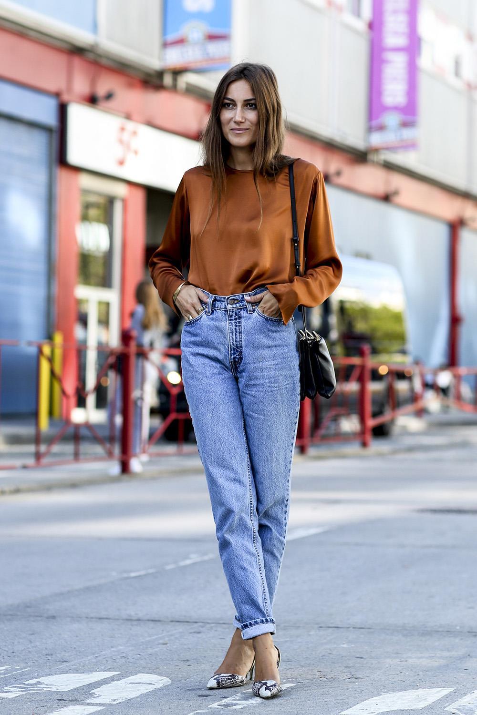 tendencia-mom-jeans11. Los jeans de la temporada son los