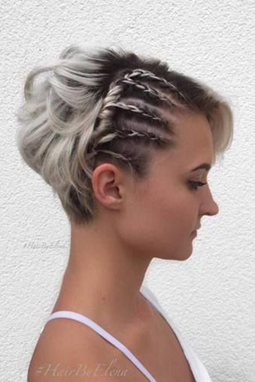 Como hacer trenzas a cabello corto