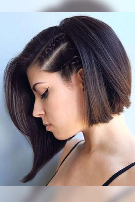 Los Mejores Peinados Con Trenzas Para Pelo Corto Otono Invierno 2018