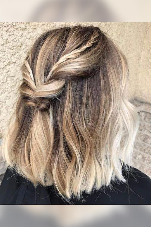 Oportunidades impresionantes peinados con pelo corto Fotos de tendencias de color de pelo - Los mejores peinados con trenzas para pelo corto Otoño ...
