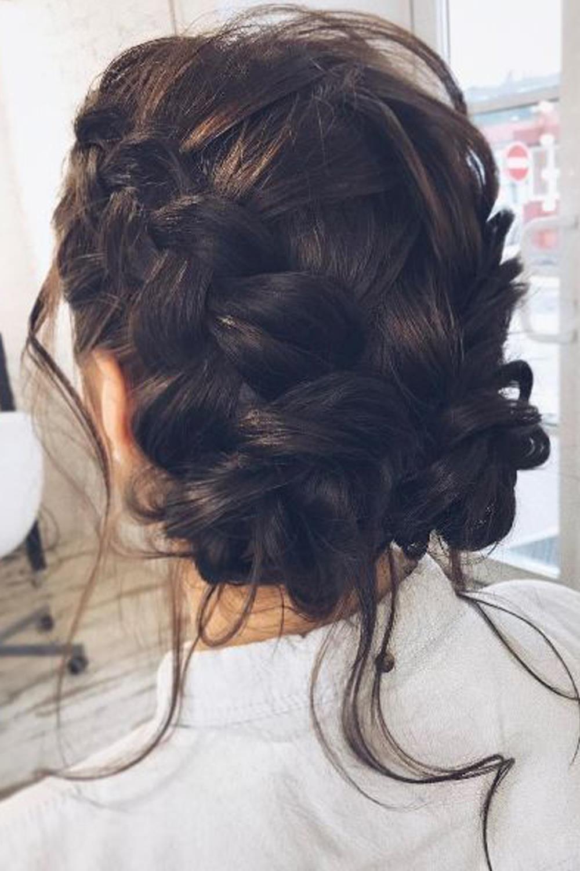 Сharming peinados para bodas trenzas Imagen de tutoriales de color de pelo - Los mejores peinados con trenzas para bodas