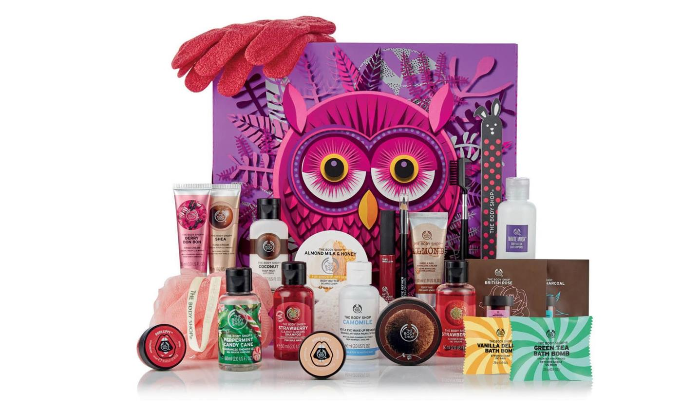 calendario adviento belleza maquillaje cosmetica navidad 2018 2019 the body shop 2. Calendario de adviento, The body shop