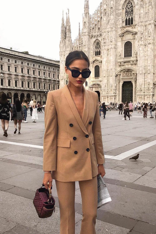 Americana De Mujer Como Llevar El Blazer En Otono Invierno 2018 2019