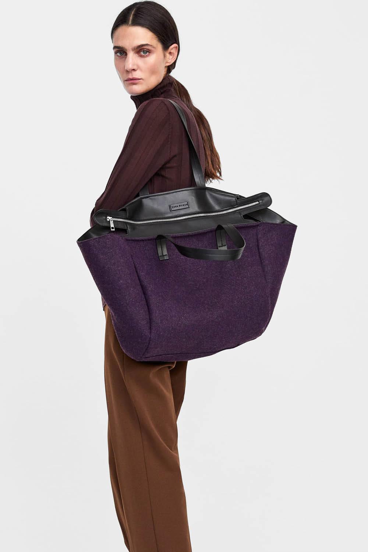 Zara ha sacado el bolso más grande del planeta 8b3ec0a254f