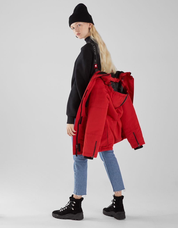 color rápido venta de descuento para toda la familia En Bershka los abrigos se cuelgan: descubre lo nuevo de su ...
