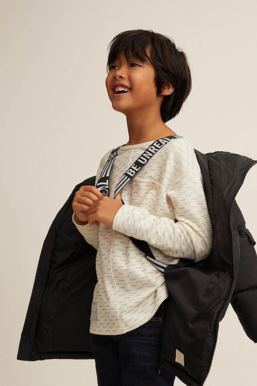 calidad de marca Cantidad limitada venta más caliente Mango Kids tiene el abrigo que tus hijos NUNCA perderán