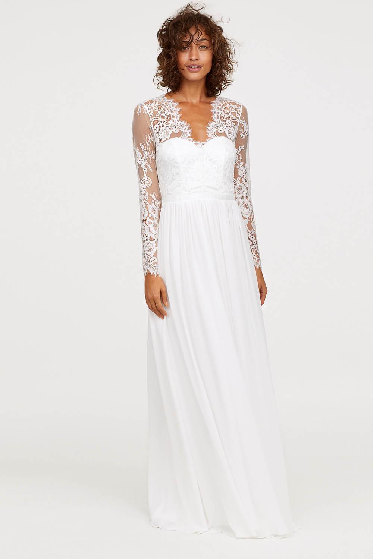 ad3eb3365a 15 vestidos de novia baratos para ir perfecta el día de tu boda
